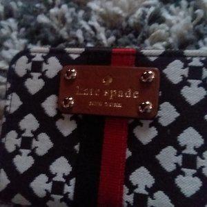 Kate Spade Brown & white change purse